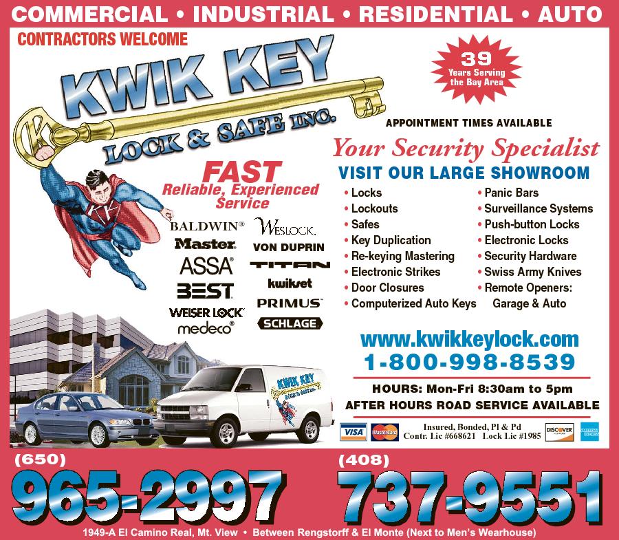 Kwik Key Lock & Safe