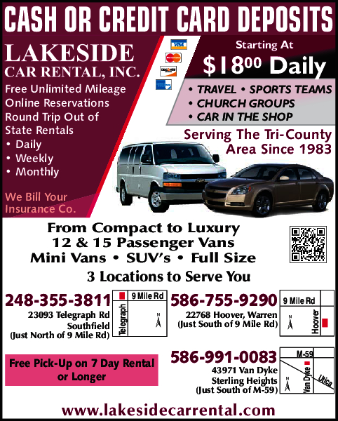 Lakeside Car Rental