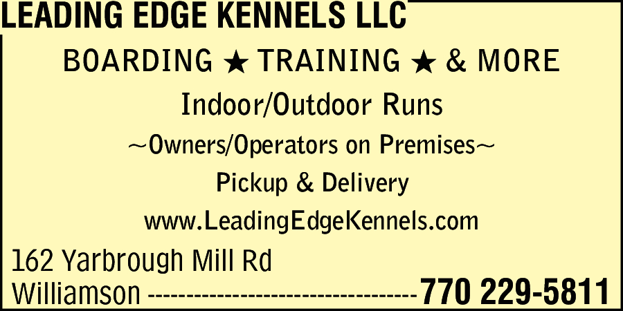Leading Edge Kennels LLC
