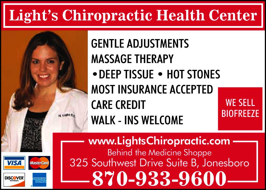 Light's Chiropractic Health Center