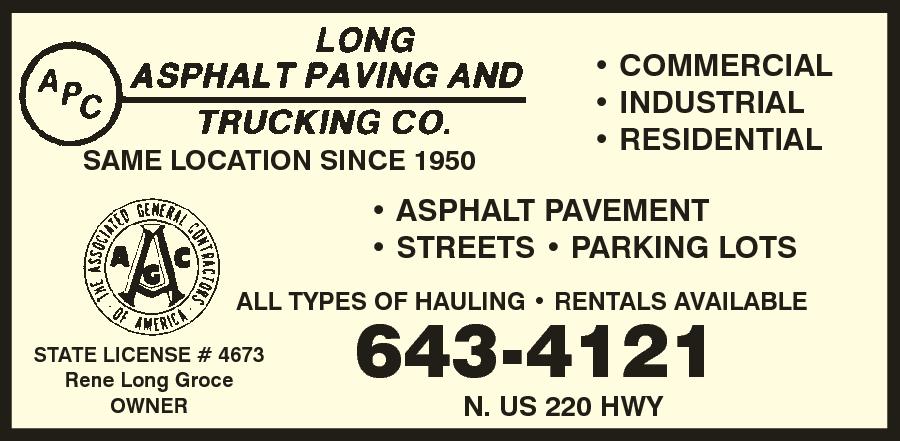 Asphalt Paving & Trucking Co