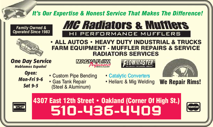M.C. Radiators & Welding Inc.