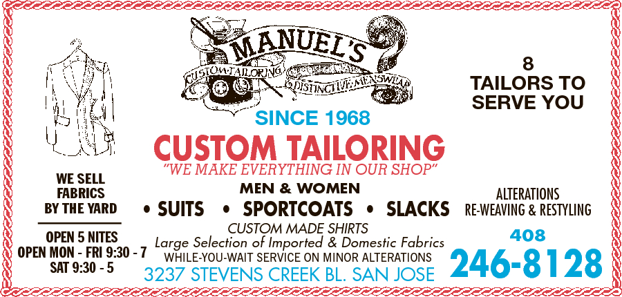 Manuel's Custom Tailoring