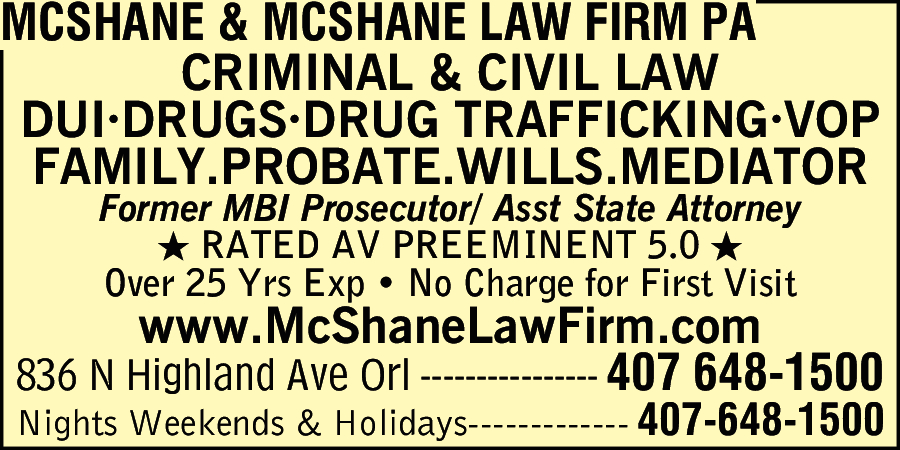 McShane & McShane Law Firm PA