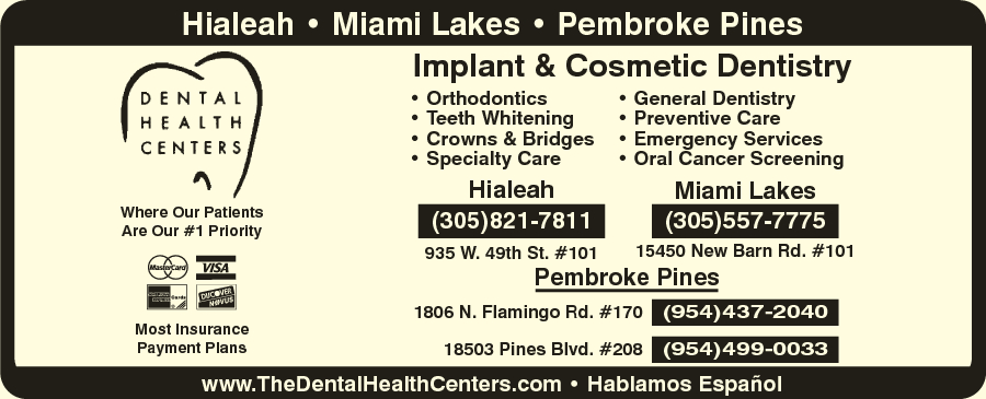 Miami Lakes Dental Health Center