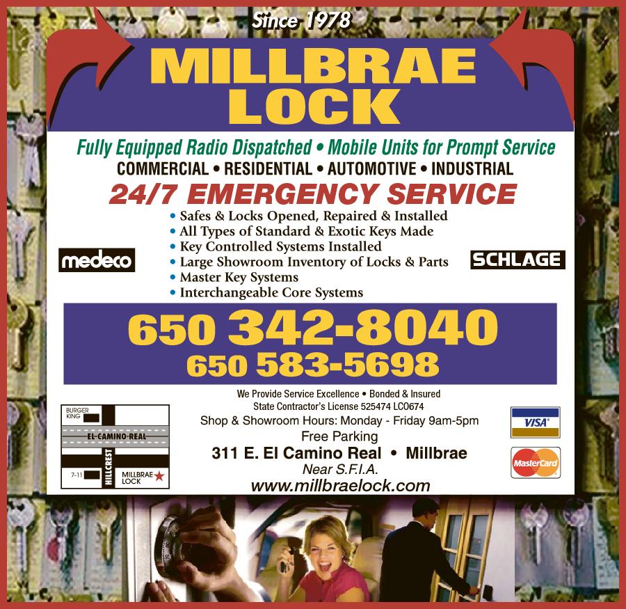 Millbrae Lock