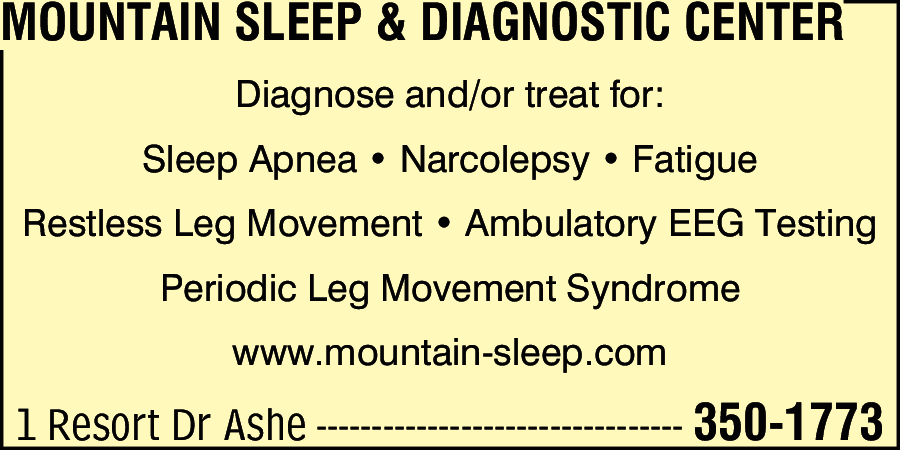 Mountain Sleep & Diagnostic Center