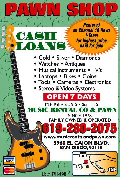 Music Rental Co. & Pawn