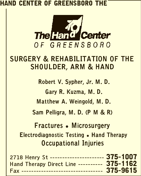 Orthopaedic and Hand Specialists PA