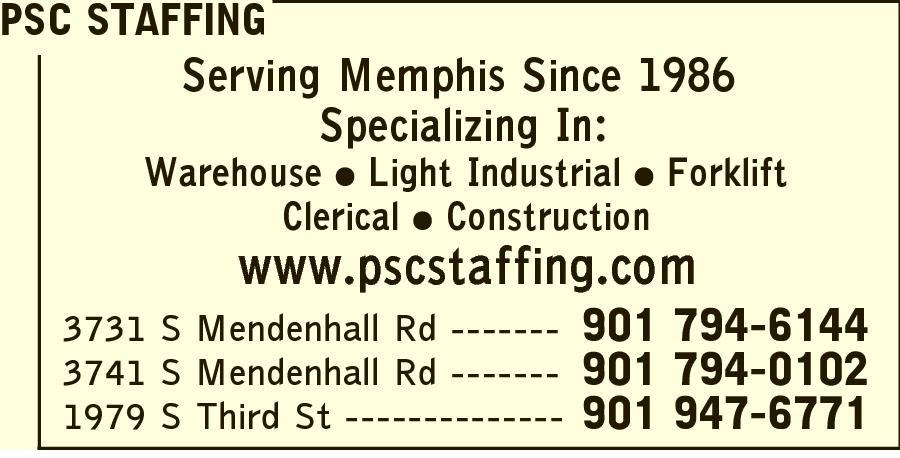 PSC Staffing