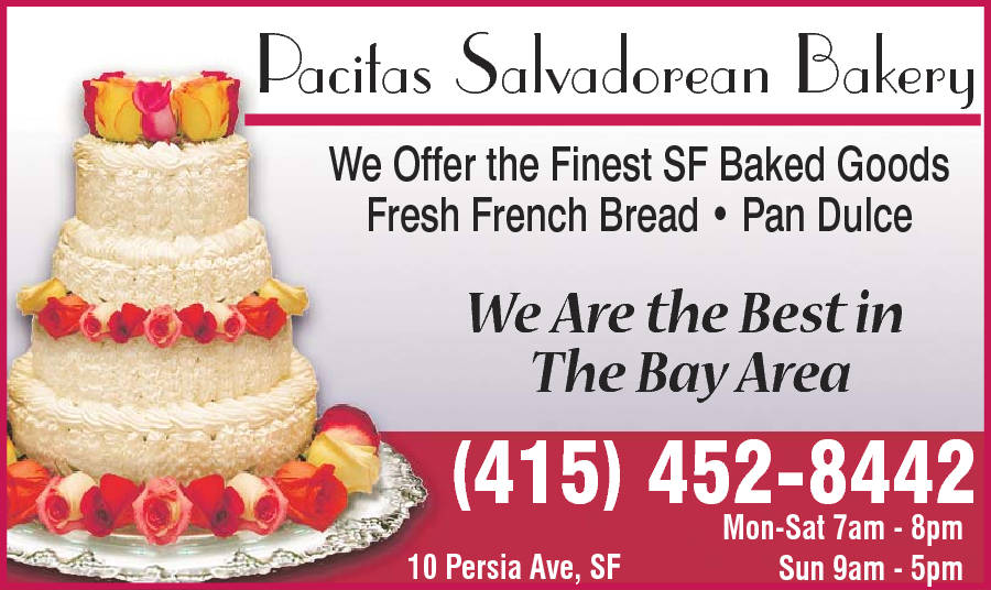Pacitas Salvadorean Bakery