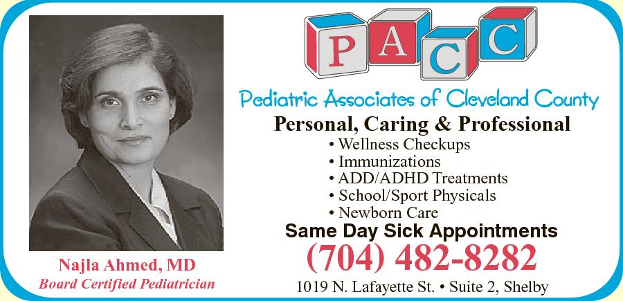 Pediatric Associates Of Cleveland County