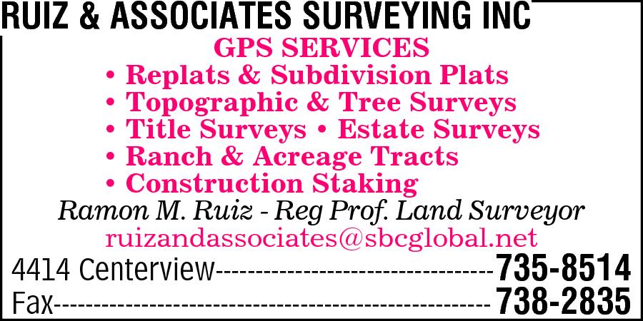 Ruiz & Associates Surveying Inc