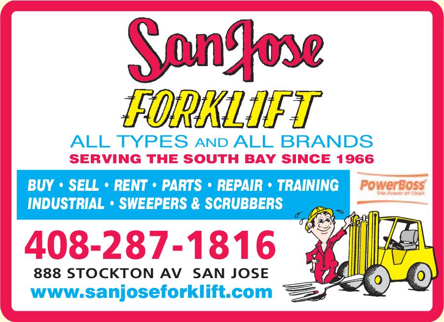 San Jose Fork Lift