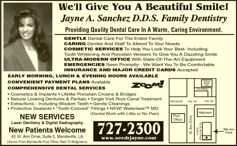 Sanchez Jayne A DDS Family Dentistry