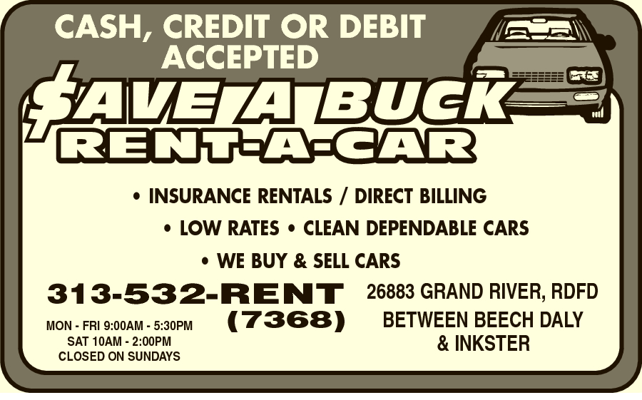 Save A Buck Rent-A-Car