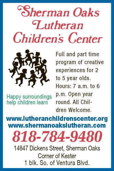 Sherman Oaks Lutheran Child Center
