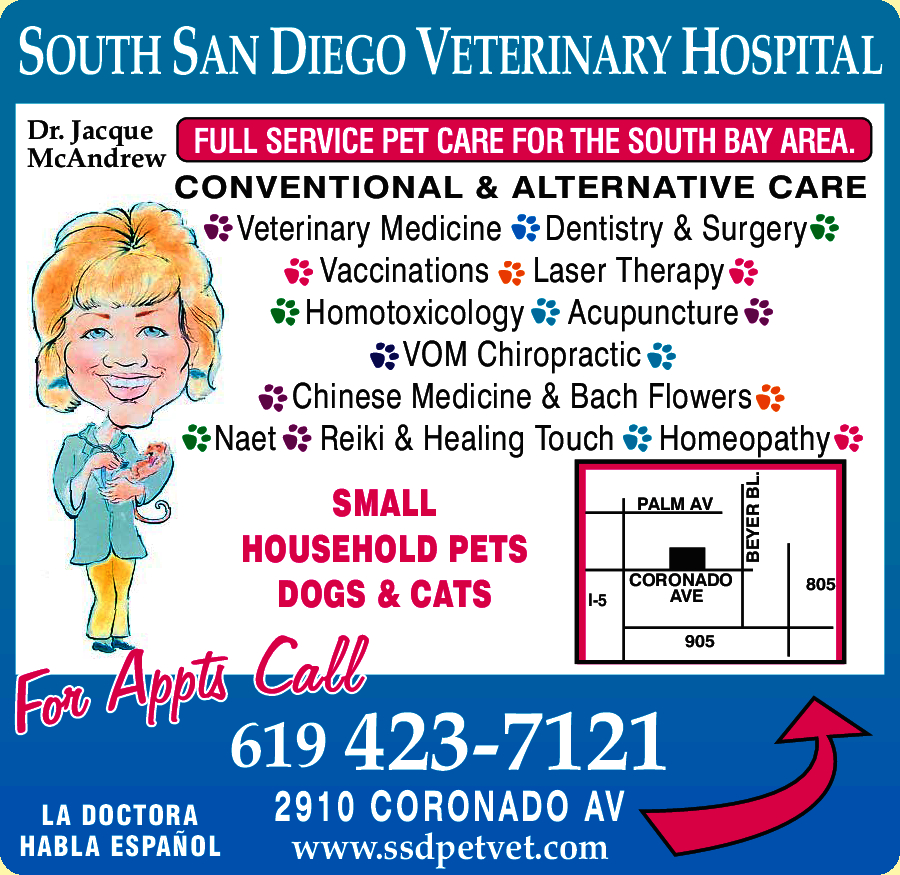 South San Diego Vet Hospital