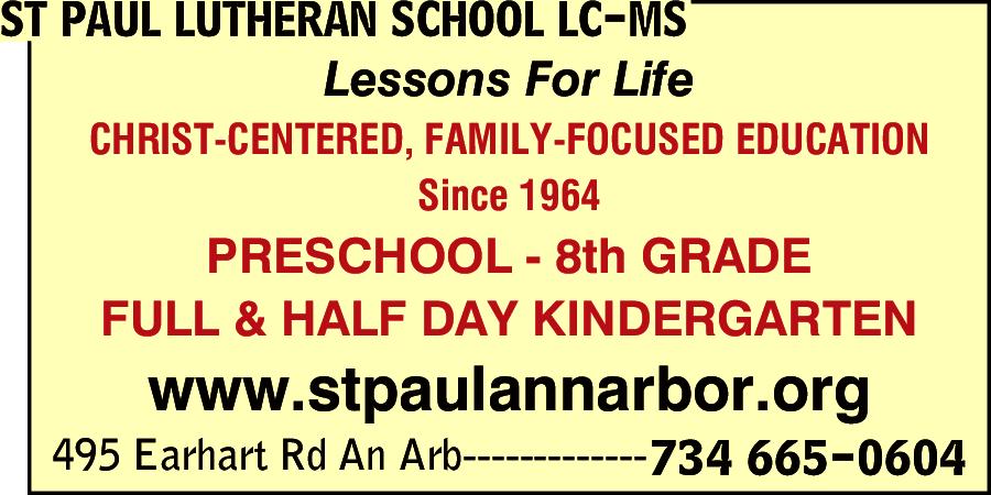 St Paul Lutheran School & Preschool