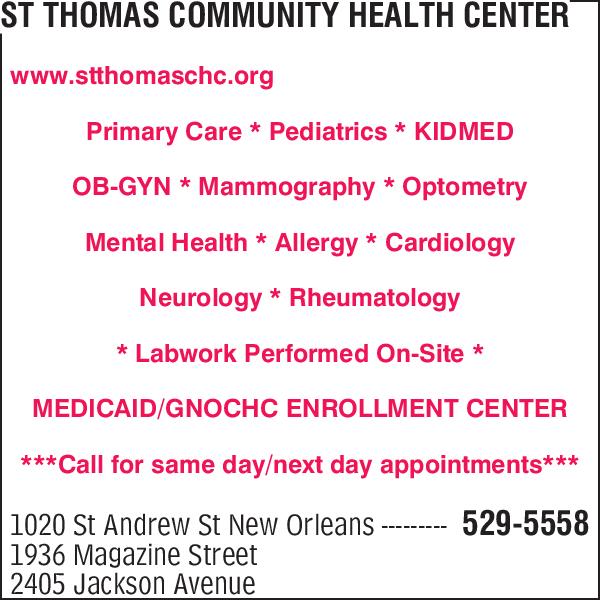 St Thomas Community Health Center