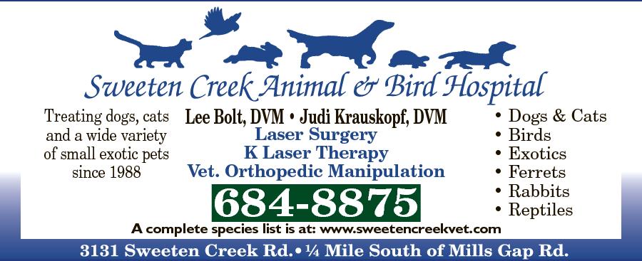 Sweeten Creek Animal And Bird Hospital