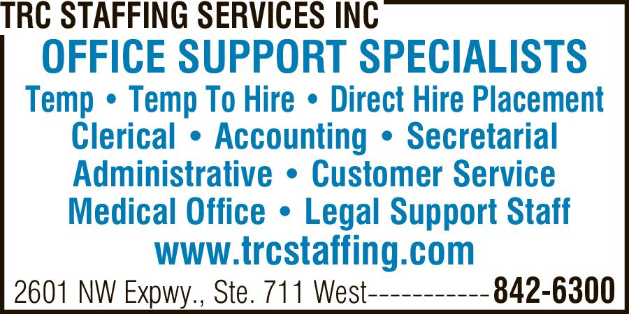 TRC Staffing Services Inc.
