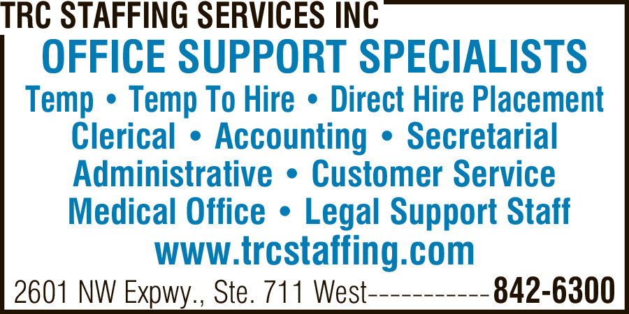 TRC Staffing Services Inc.