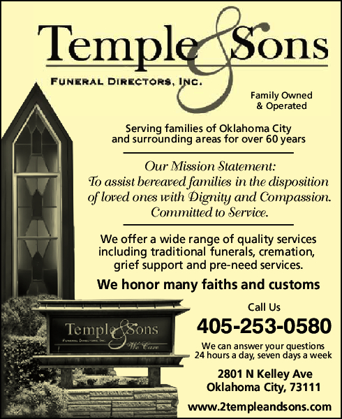 Temple & Son Funeral Home Inc