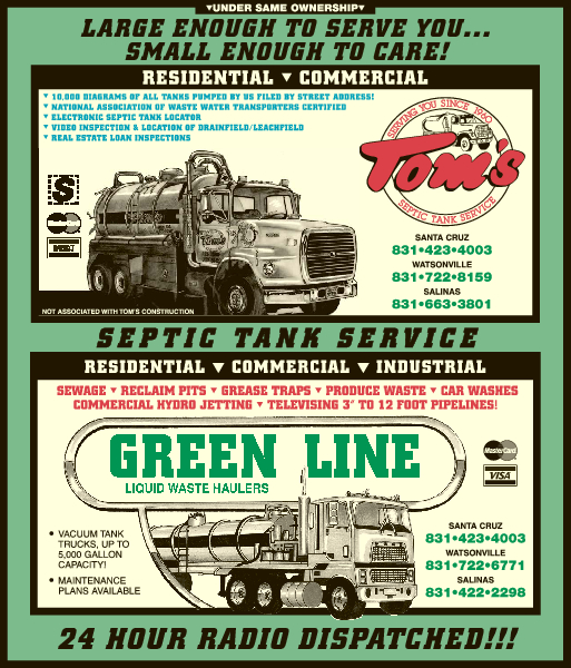 Tom's Septic and Green Line