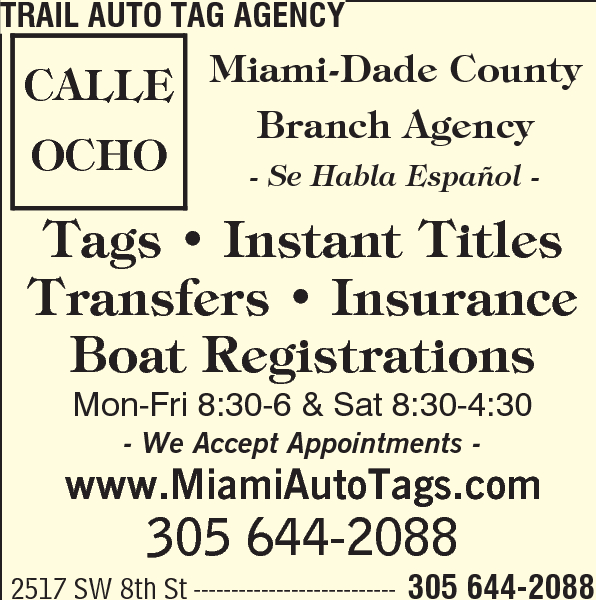 Trail Auto Tag Agency