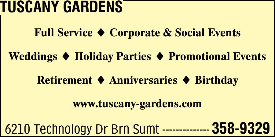 Tuscany Gardens