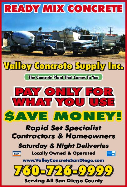 Valley Concrete Supply Inc.