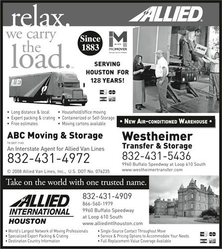 Westheimer Transfer & Storage