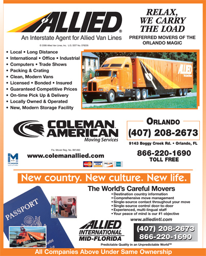 Coleman American Moving Services, Inc. - Agent Of Allied Van Lines