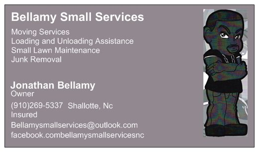Bellamy Small Services - Shallotte, NC