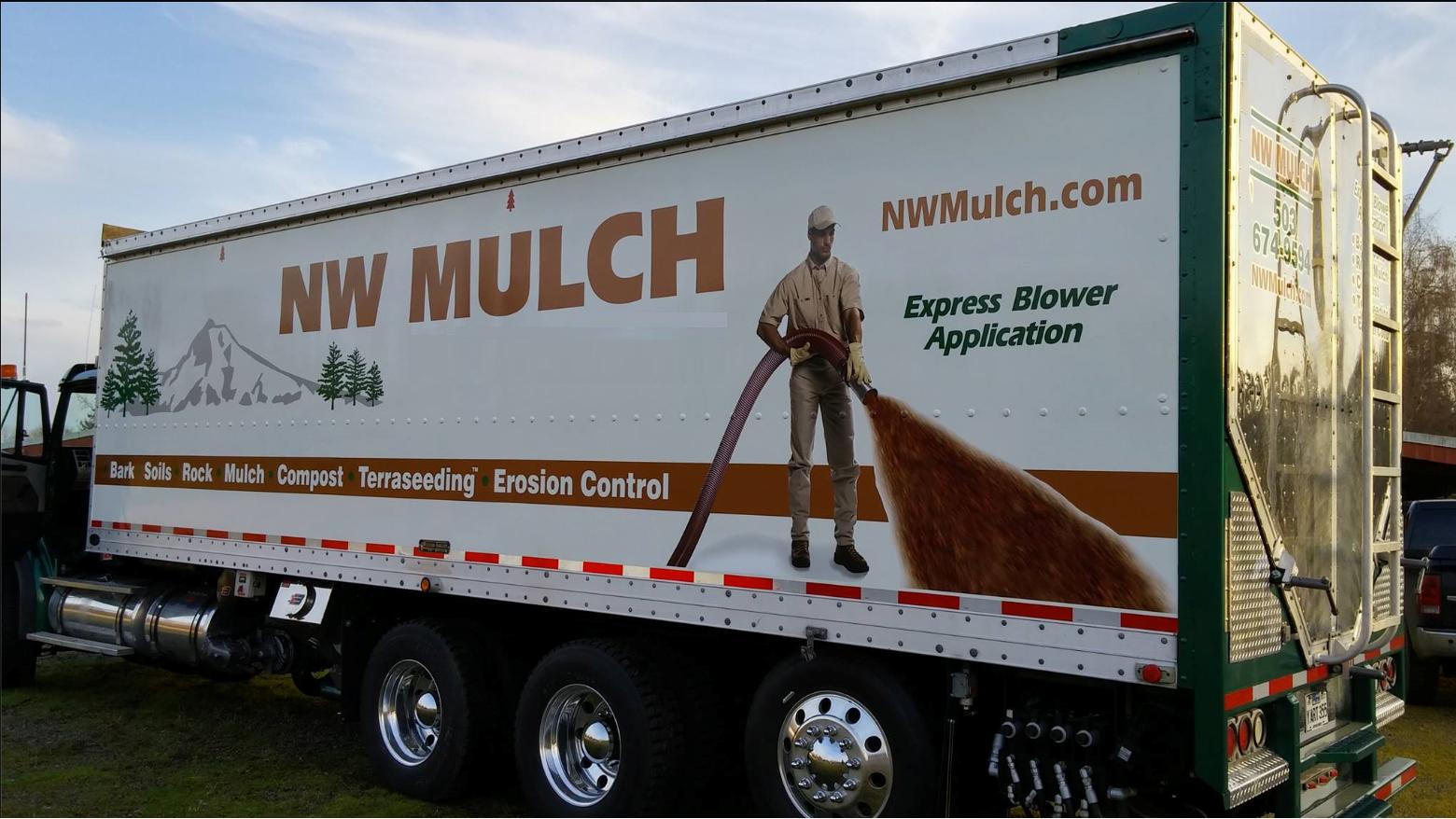 NW Mulch Bark Blowing Services - Gresham, OR