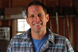Chris Lambton HGTV's Going Yard Host