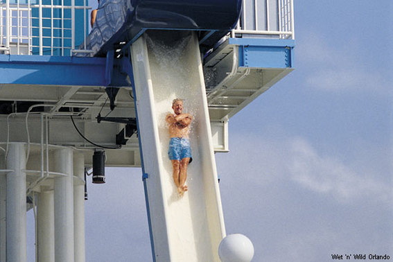 Bomb Bay at Wet 'n' Wild Orlando, FL