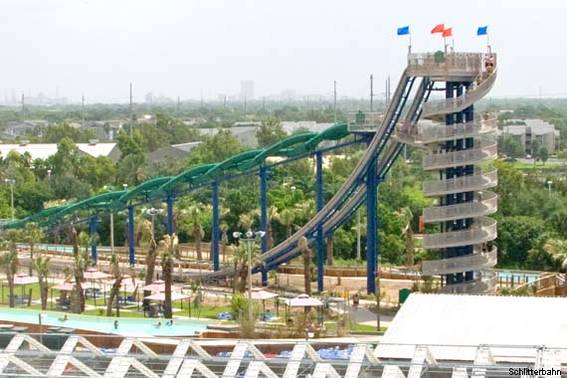 Cliffhanger at Schlitterbahn in Galveston, TX