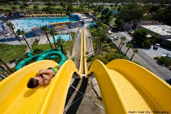 Tidal Wave at Knott's Soak City Waterpark in Palm Springs, CA