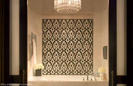 Bathroom Design Ideas - Beverly Wilshire Hotel