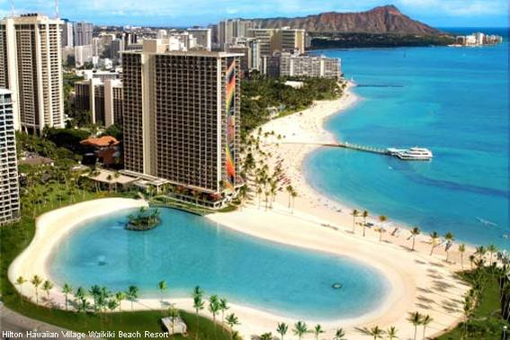 Hilton Hawaiian Village Waikiki Beach