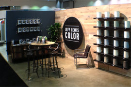 Jeff Lewis Paint Collection Booth at Dwell on Design 2013