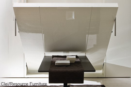 Resource Furniture - Clei - Ulisse Dining Bed Moving