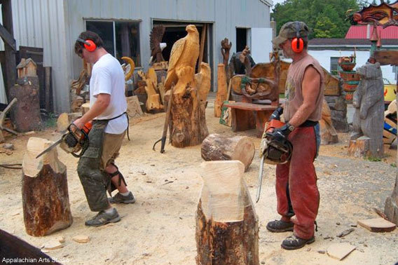 Appalachian Arts Chainsaw Class
