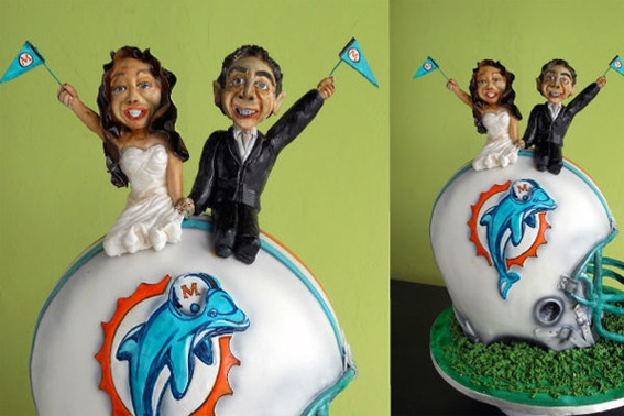 Miami Dolphins Cake By cakelava