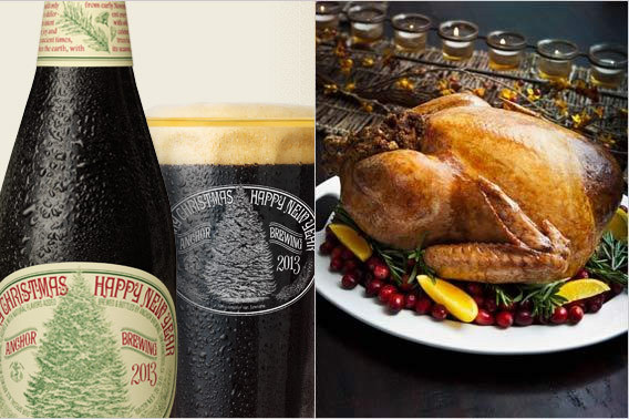 Holiday Beer Pairings - Anchor Christmas Ale