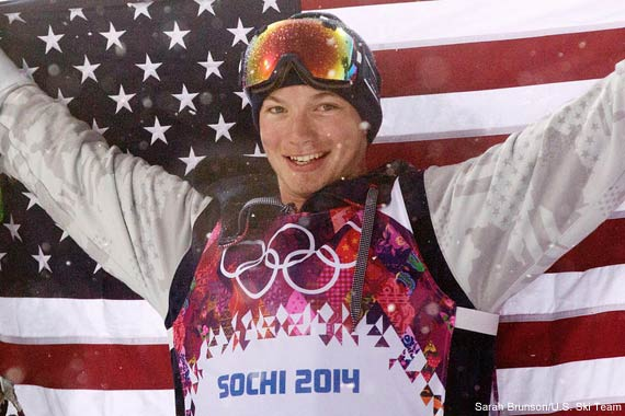Sochi Olympic Gold Medalist, David Wise