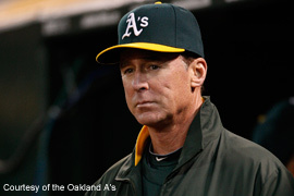 Bob Melvin, Manager of the Oakland A's