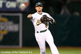 Jed Lowrie, Oakland A's